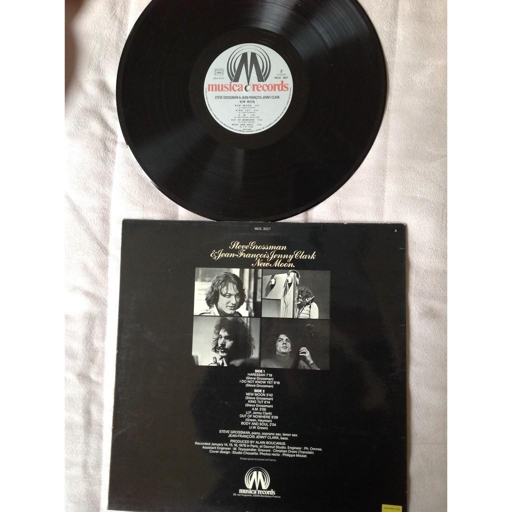 Steve Grossman J.-F. Jenny-Clark - New Moon (Vinyl Steve Grossman J.-F. Jenny-Clark - New Moon (Vinyl)