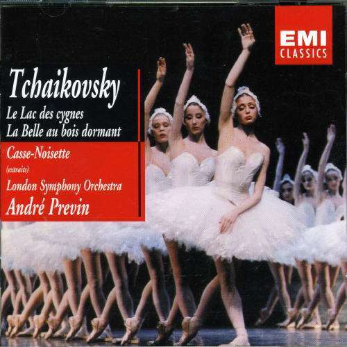 Tchaikovsky, Pyotr Ilyich Swan Lake, Sleeping Beauty, Nutcracker (Highlights) / André Previn, London Symphony Orchestra