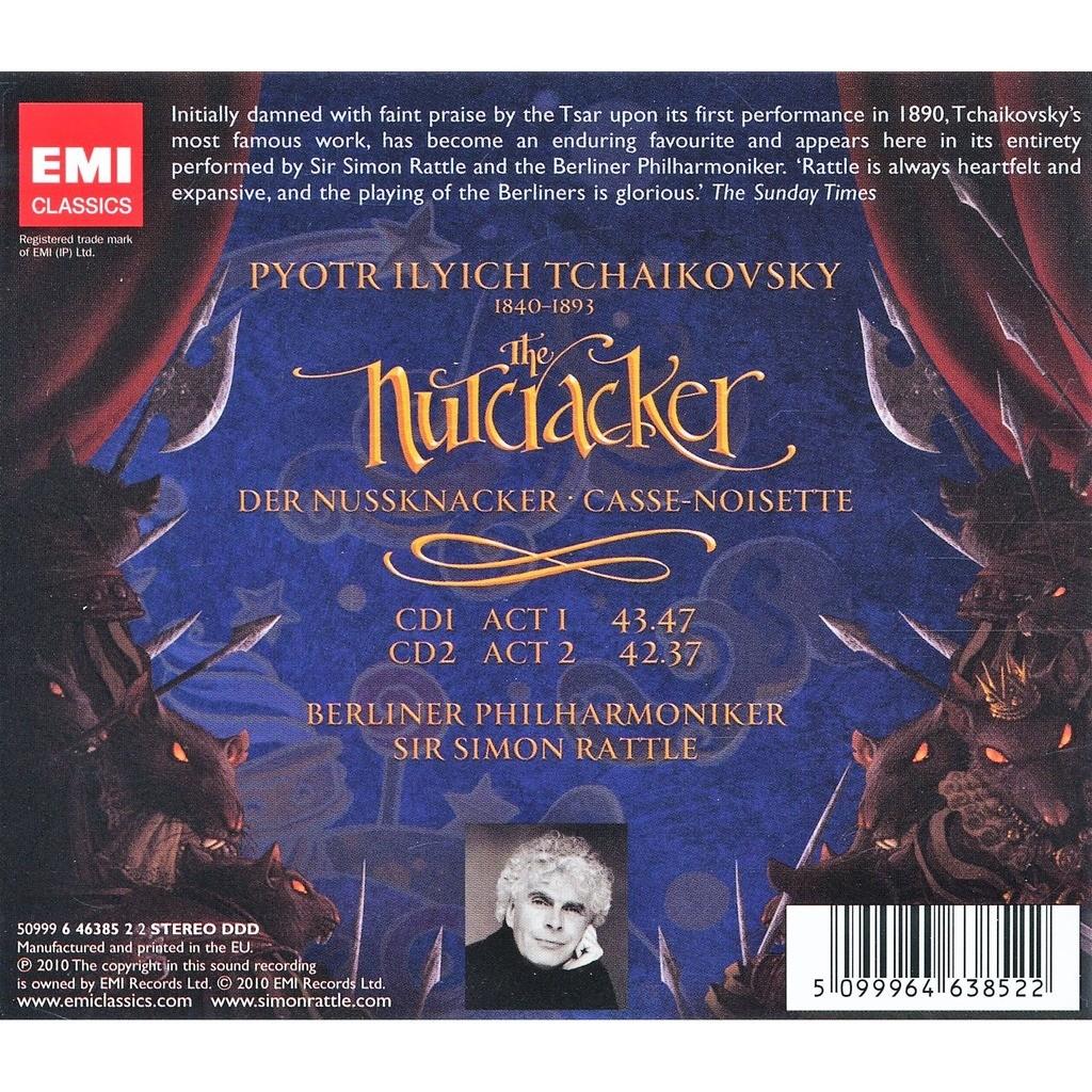 Tchaikovsky, Pyotr Ilyich Nutcracker / Simon Rattle, Berlin Philharmonic Orchestra