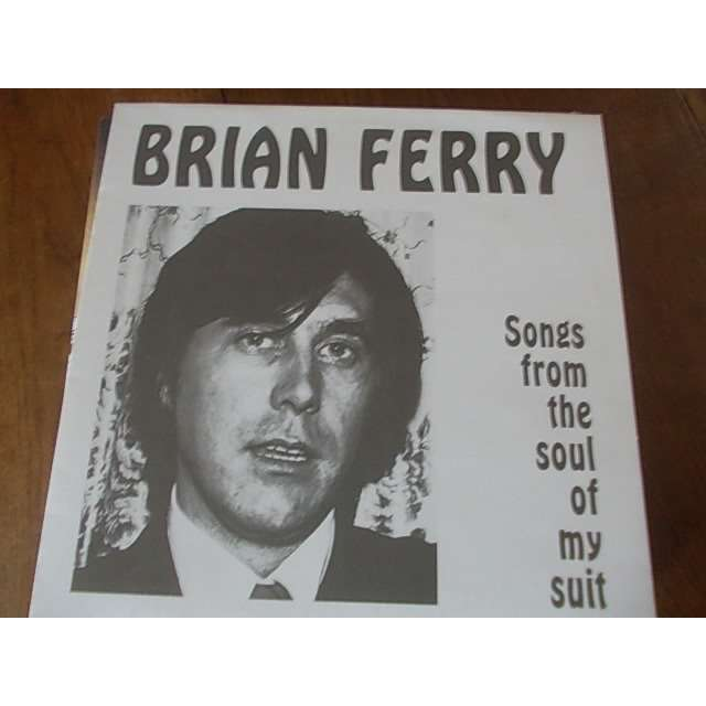 brian ferry Songs from the soul of my suit