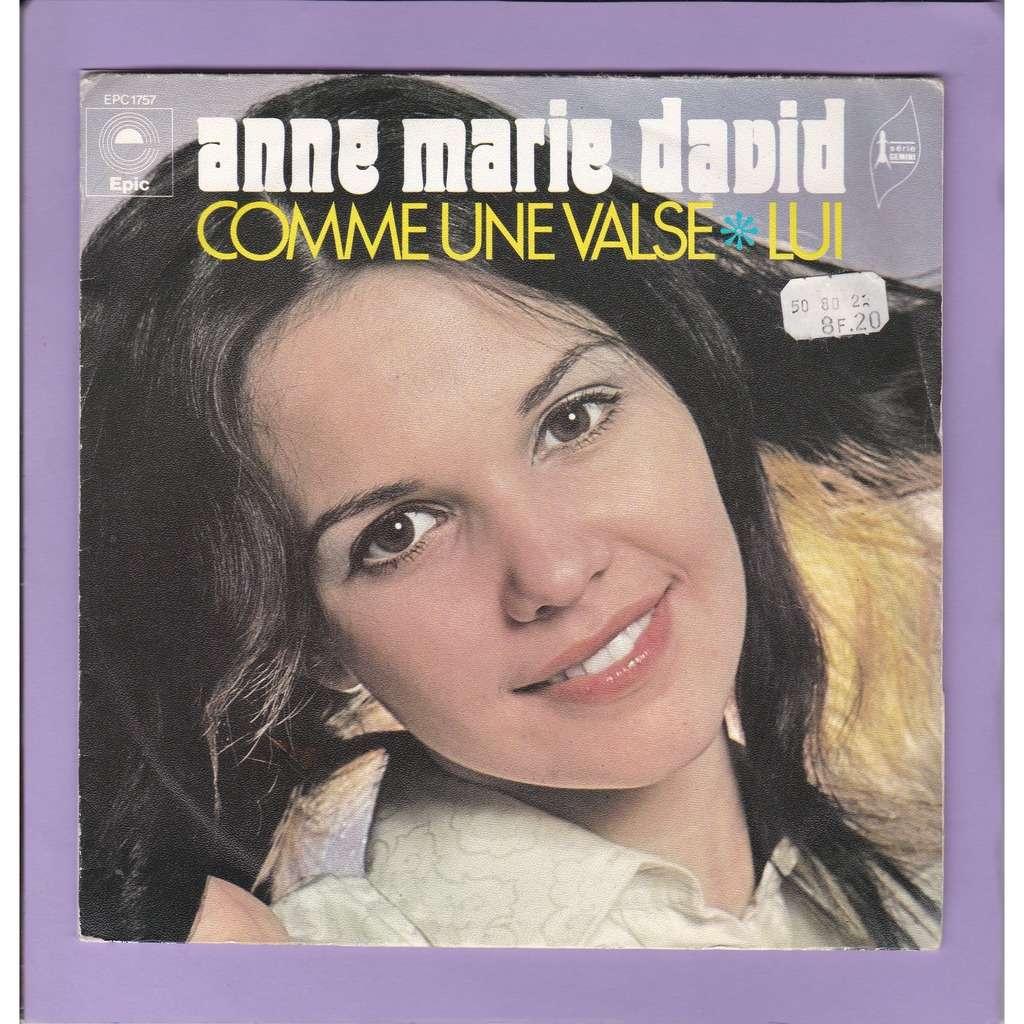 ANNE MARIE DAVID ( MALLORY . A. DONA ) COMME UNE VALSE - LUI