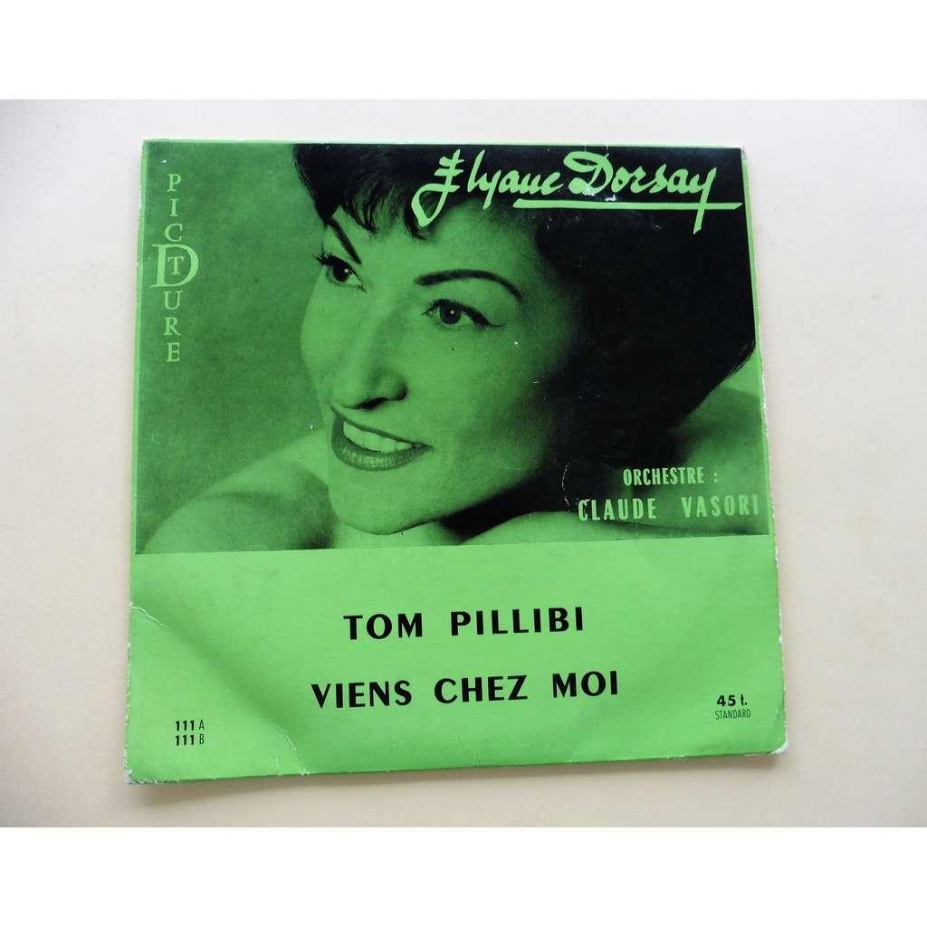 ELYANE DORSAY TOM PILLIBI ( EUROVISION ) / VIENS CHEZ MOI