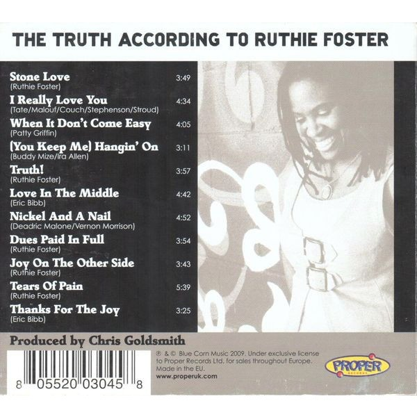 Ruthie Foster The Truth According To Ruthie Foster