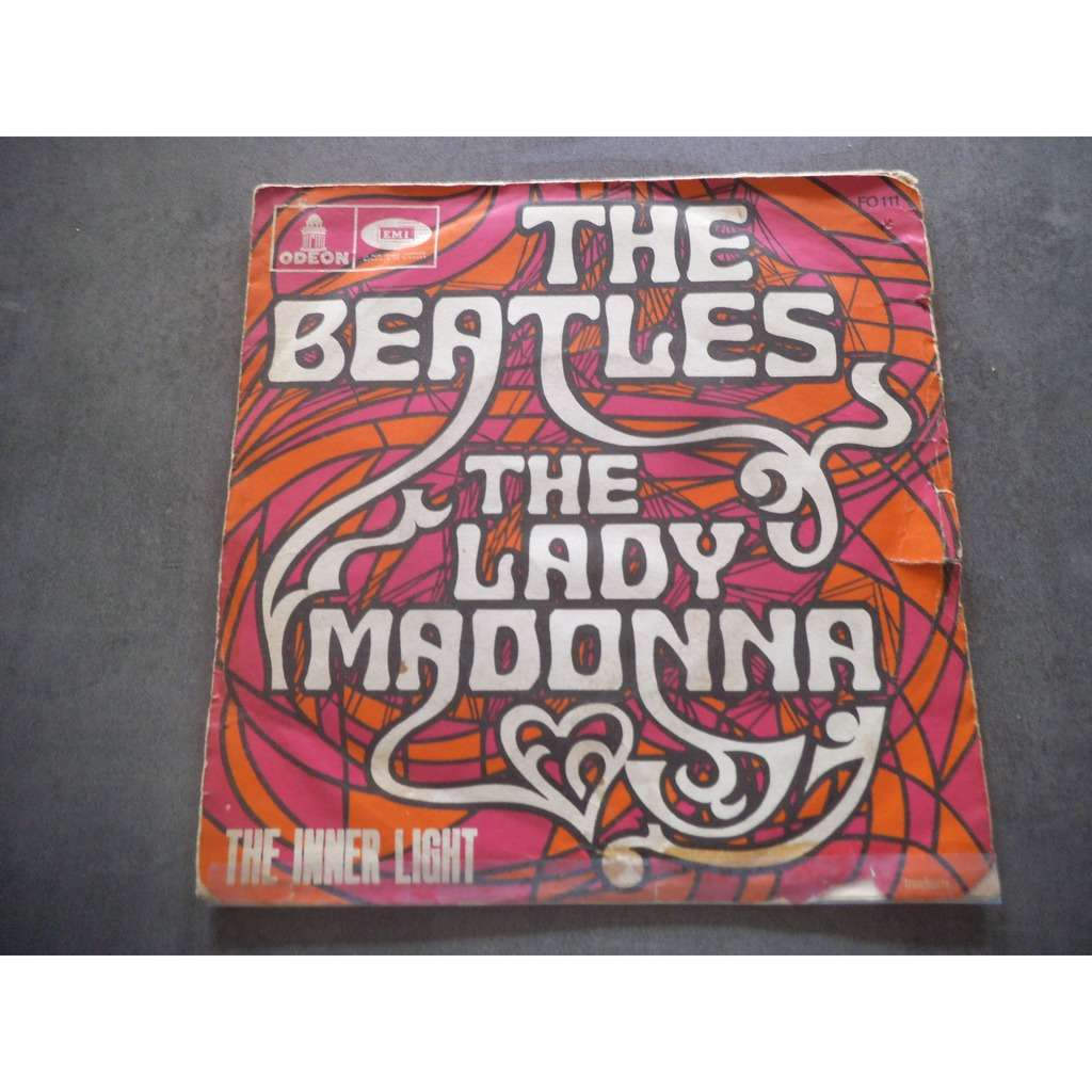 the beatles LADY MADONNA / THE INNER LIGHT