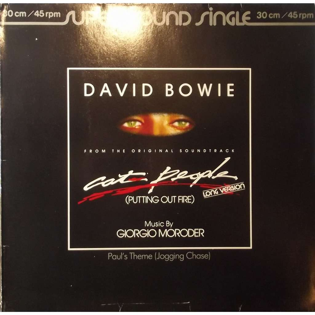 cat people putting out fire david bowie 12 45回転