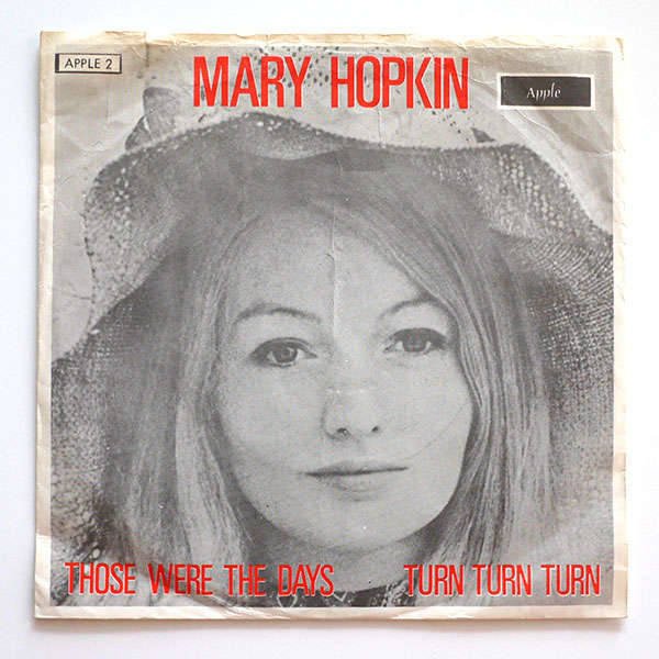 Those Were The Days By Mary Hopkin 7inch X 1 With