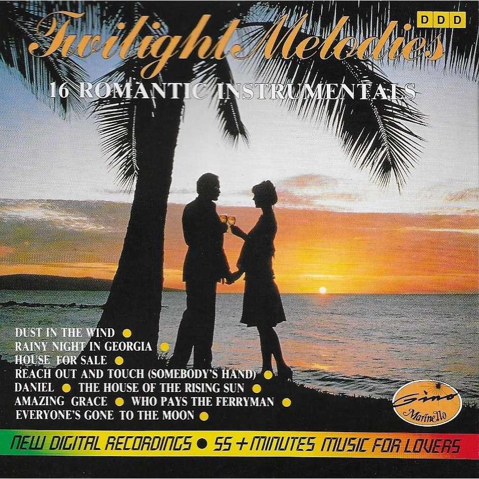 The Gino Marinello Orchestra TWILIGHT MELODIES - 16 Romantic Instrumentals