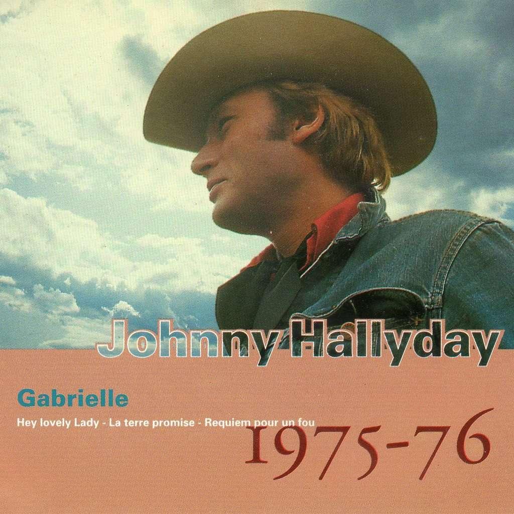 johnny hallyday Gabrielle 1975 / 76