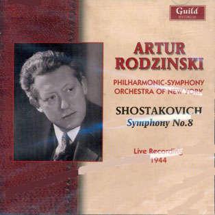 Artur Rodzinski Chostakovitch Symphonie N°8