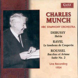 charles munch Debussy - Ravel - Roussel