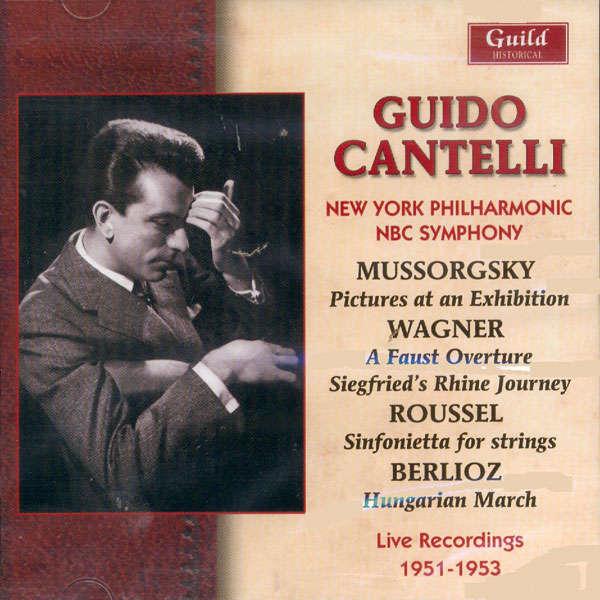 guido cantelli live recording 1951-1953