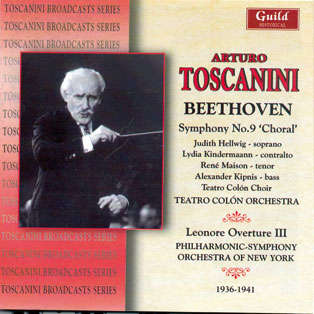 arturo toscanini Beethoven : Symphonie n°9