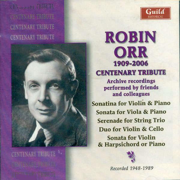 Robin Orr Robin Orr 1909 - 2006