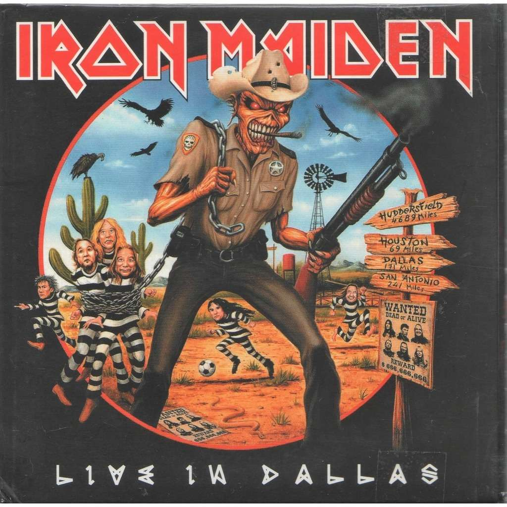 Iron maiden Live In Dallas (American Airlines Center TX 23.06.2017 etc.)