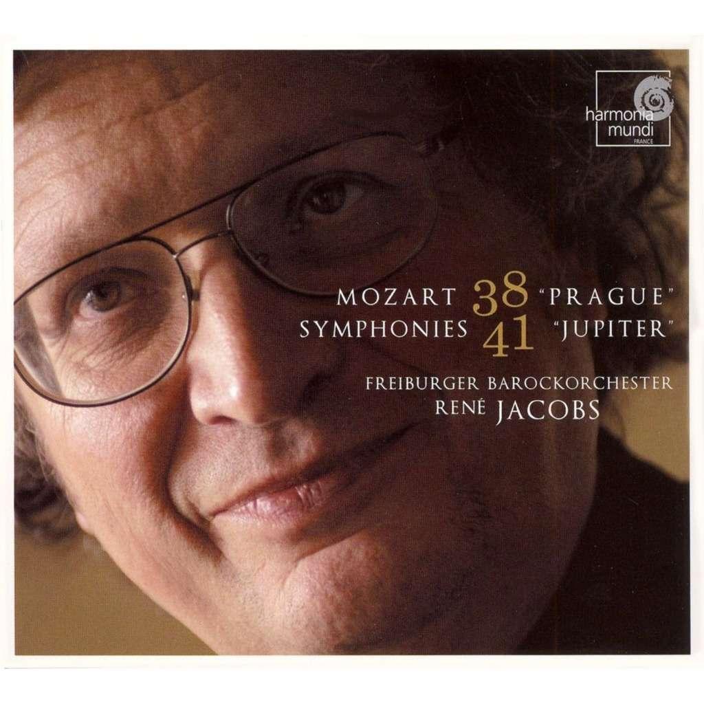 Symphonies Nos 38 Prague & 41 Jupiter Freiburger Barockorchester