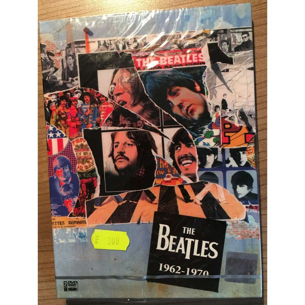 the Beatles 1962-1970, Double DVD, Rare Russian Edition