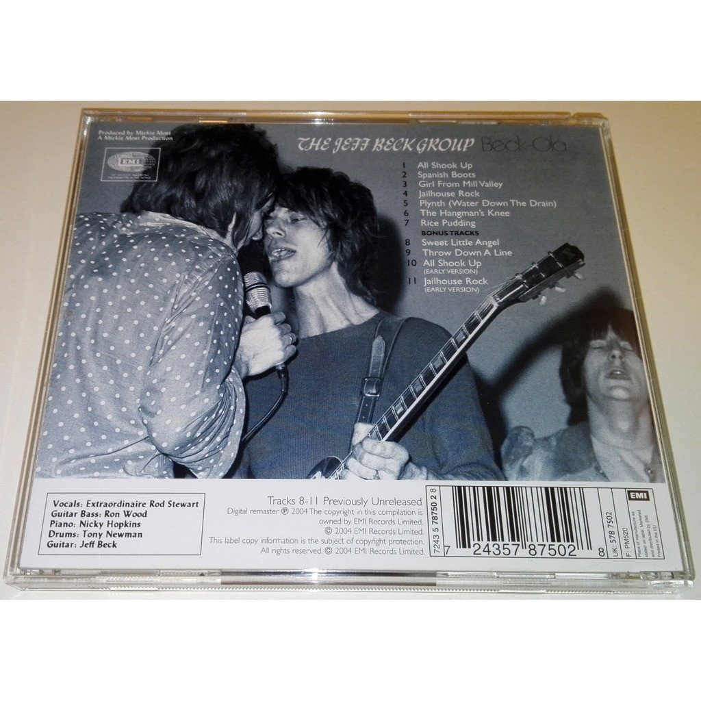 The Jeff Beck Group Beck-Ola