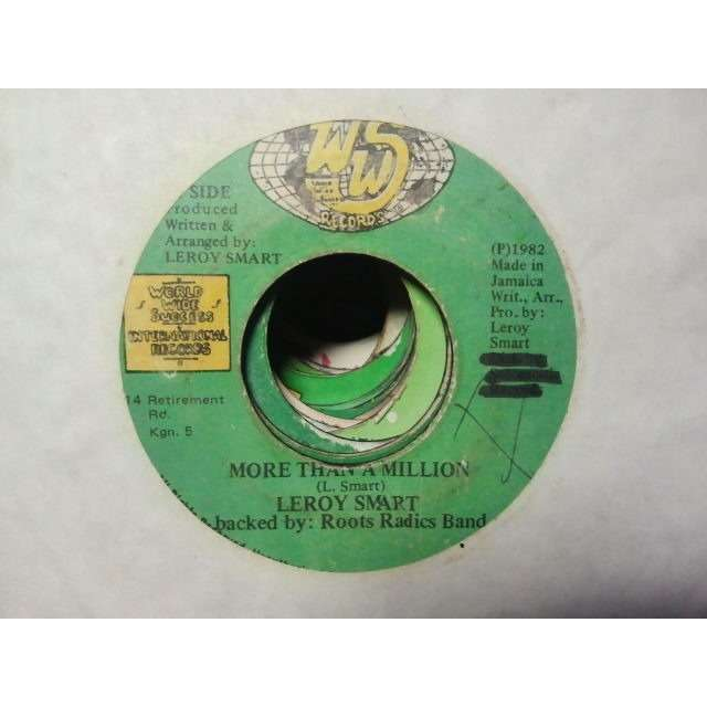 LEROY SMART / ROOTS RADICS BAND AND THEIR ARMY MORE THAN A MILLION / VERSION ORIG.