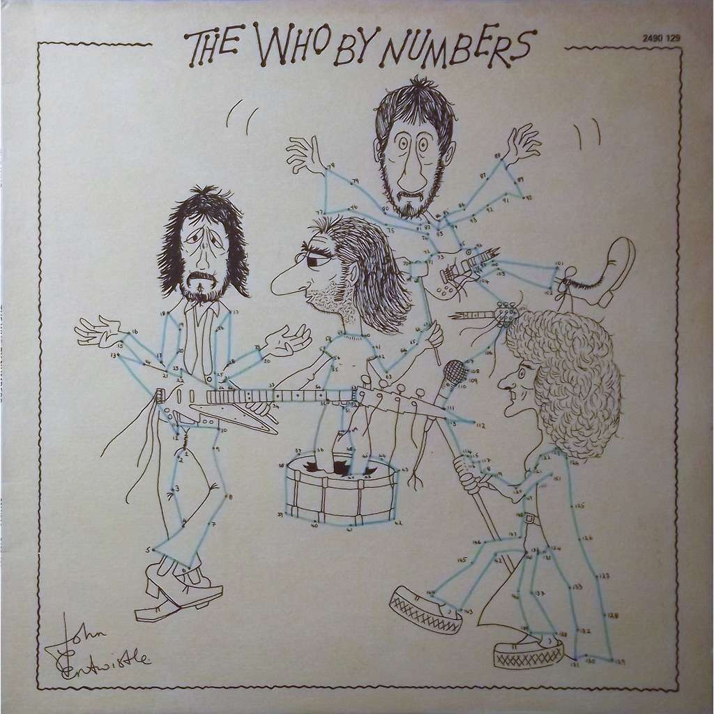the who by numbers the who lp 売り手 vinyl59 id 119046586