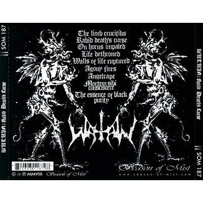 WATAIN Rabid Death's Curse