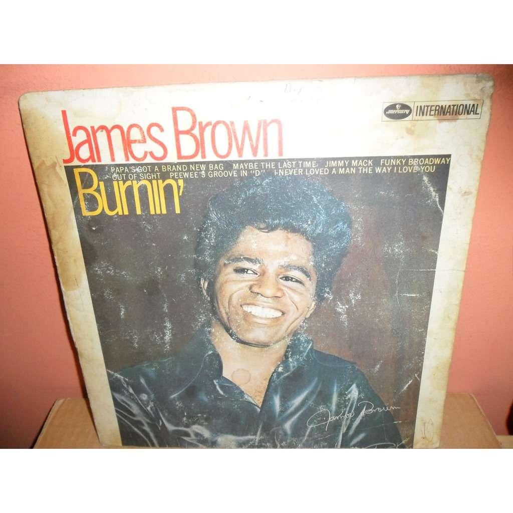 JAMES BROWN burninMERCURY