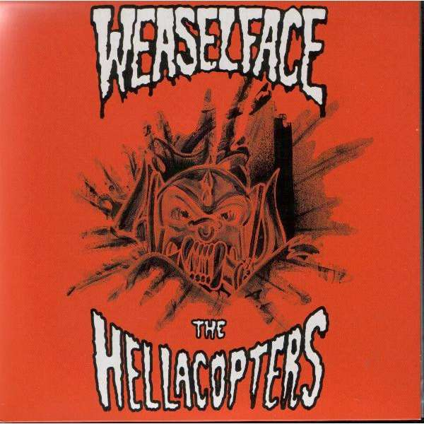 Weaselface / The Hellacopters Weaselface / The Hellacopters (7) Ltd Edit Colored Vinyl -Sweden
