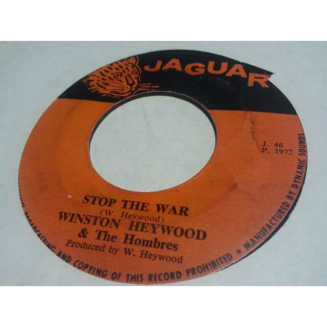 WINSTON HEYWOOD & THE HOMBRES STOP THE WAR / VERSION ORIG.