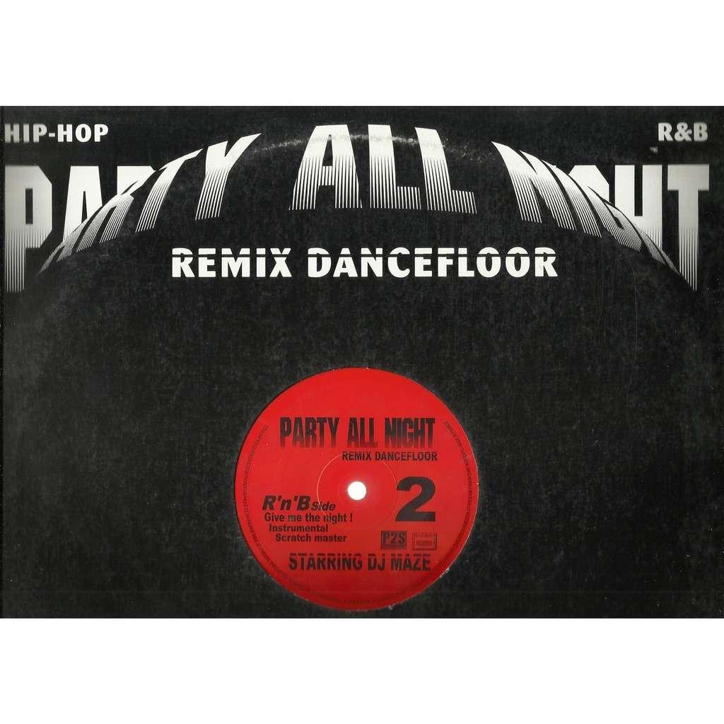 DJ MAZE party all night , vol. 2 - 5 tracks