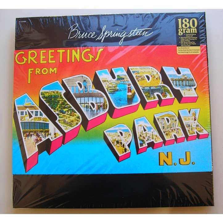 Greetings from asbury park nj by bruce springsteen lp 180 220 gr bruce springsteen greetings from asbury park nj m4hsunfo