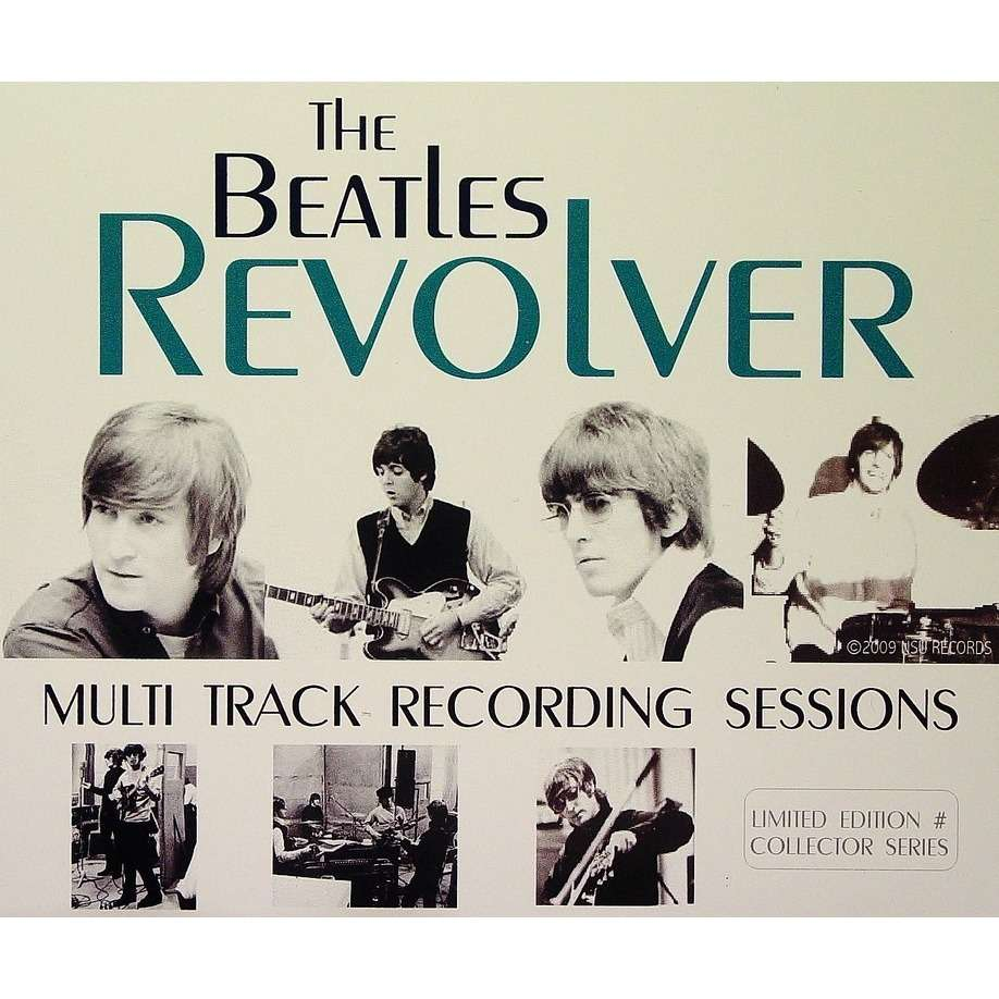 the beatles REVOLVER MULTI TRACK RECORDING SESSIONS 4CD