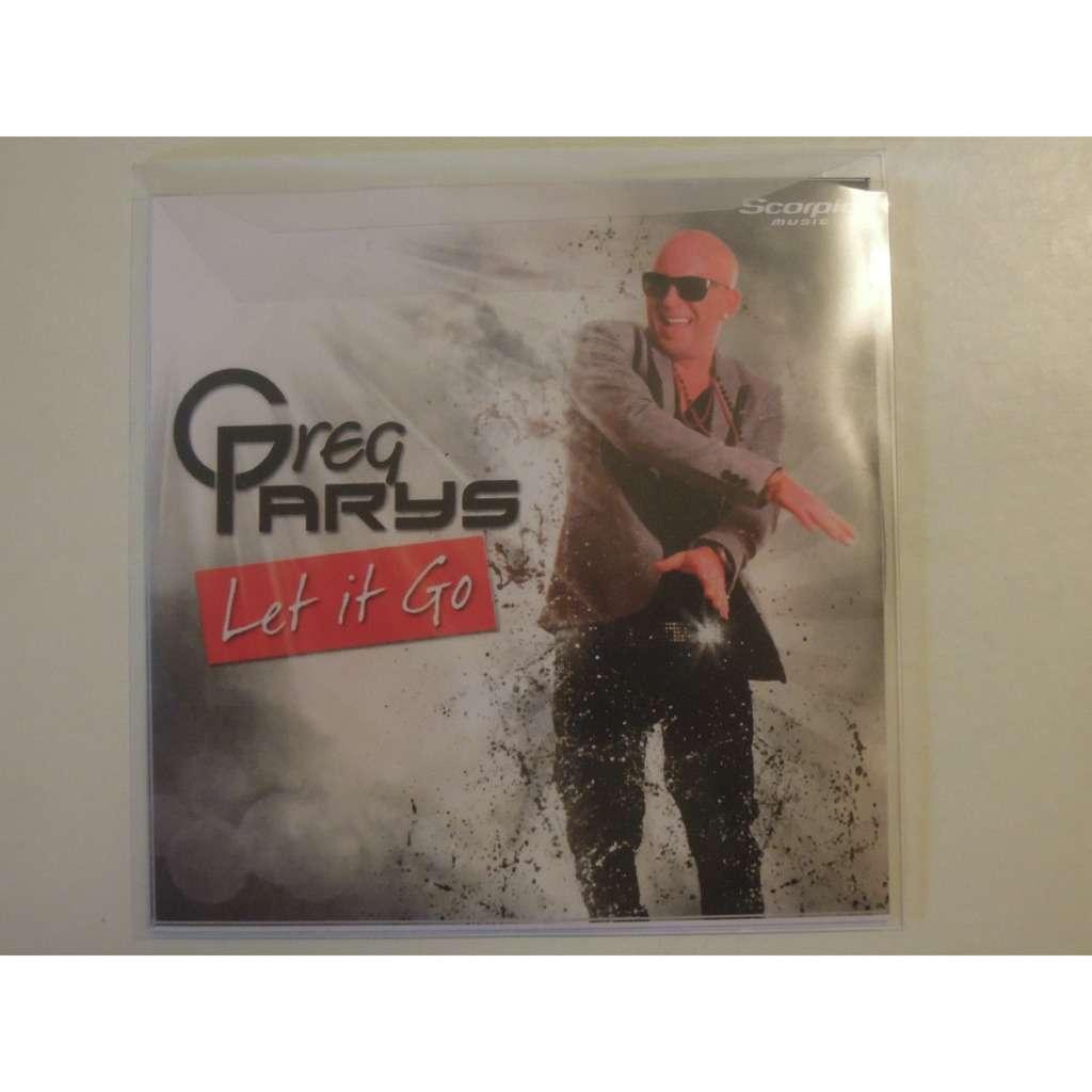 greg parys let it go promo 3 tracks