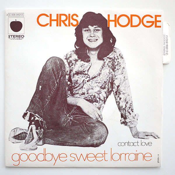Beatles Chris Hodge Goodbye Sweet Lorene MINT 45