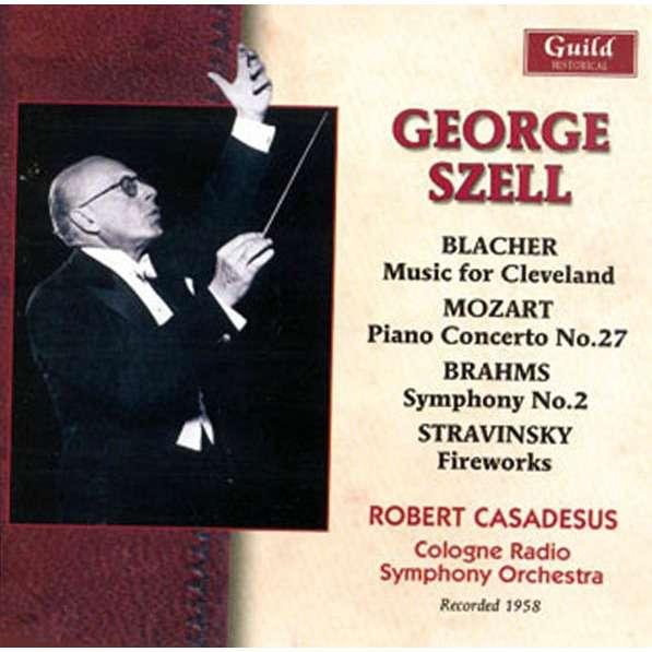George Szell dirige... Blacher, Mozart, Brahms, Stravinsky