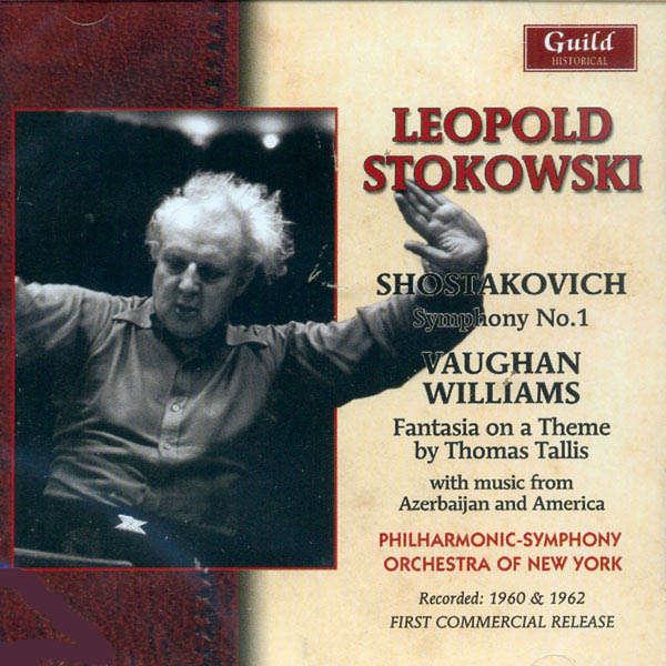 leopold stokowski dirige... Chostakovitch, Vaughan Williams