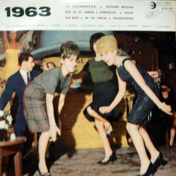 L.Valino, Les Twisty's Twist, Nancy Holloway, etc; 1863, 1963