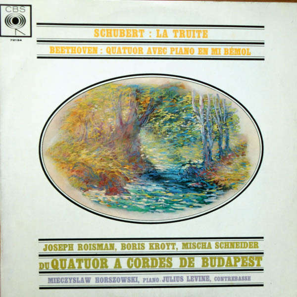 Quatuor à cordes de Budapest Schubert : La truite