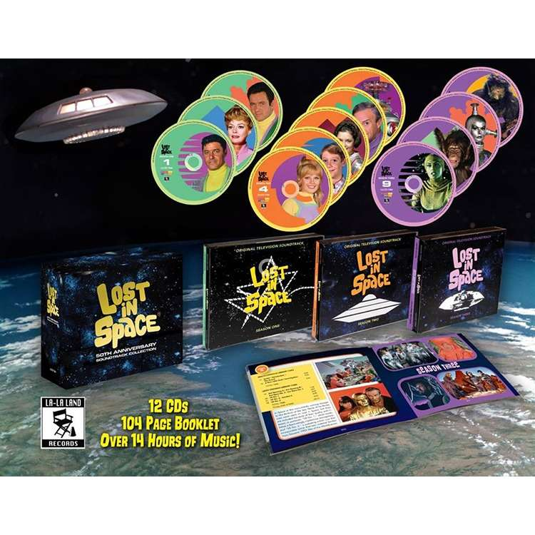 Williams/Herrmann/Courage/Newman/Salter etc. Lost In Space: 50th Anniversary Soundtrack Collection