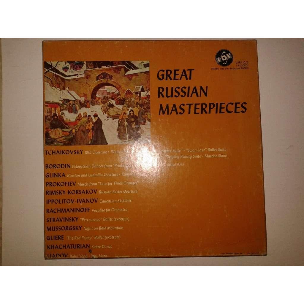 Tchaikovsky / Borodin / Glinka / Liadov Great Russian Masterpieces