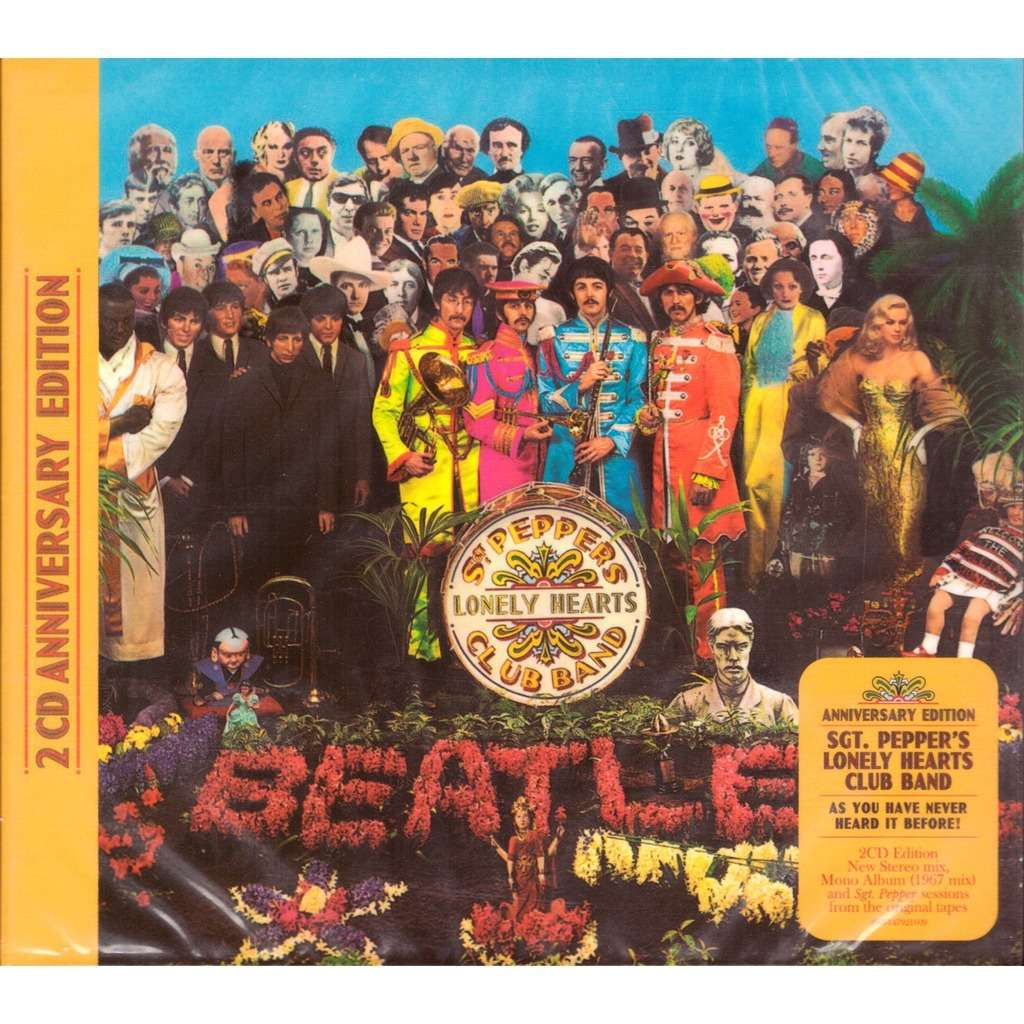 Sgt Pepper S Lonely Hearts Club Band 2 Cd Anniversary