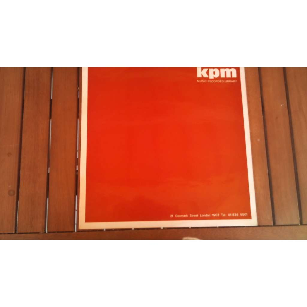 KPM music record library LP 9