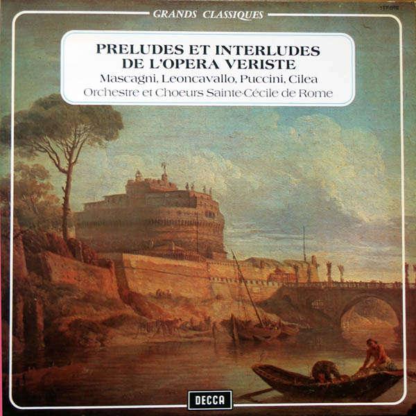 Orchestre & Chœur Ste Cécile de Rome L'Opera veriste