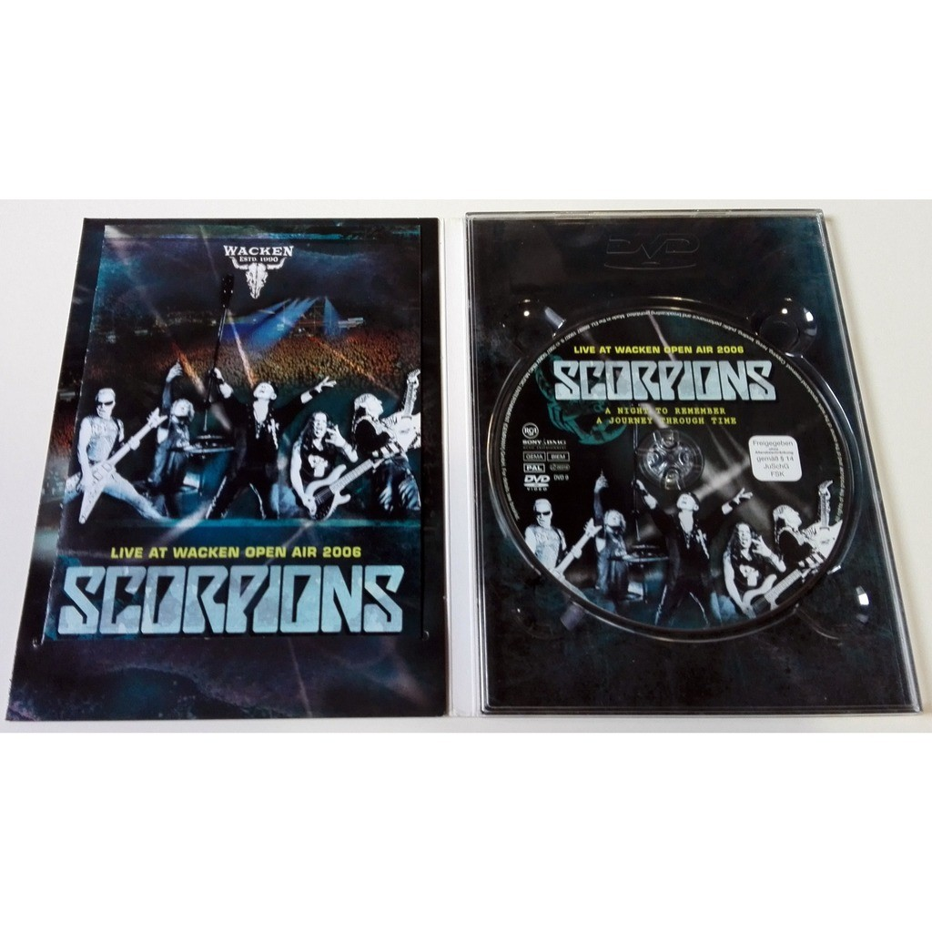 Scorpions Live At Wacken Open Aire 2006