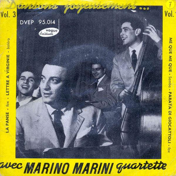marino marini et son quartette Lettre à virginie