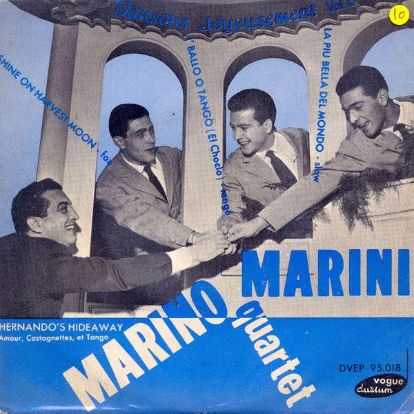 marino marini et son quartette La piu' bella del mondo