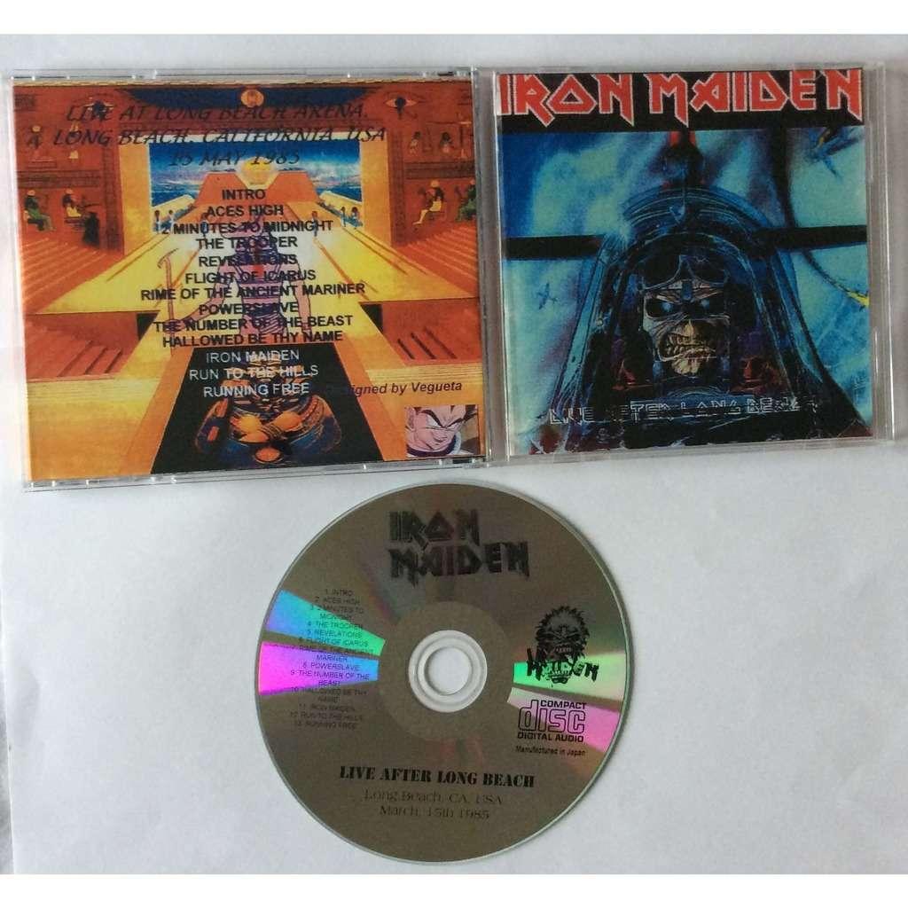 Iron Maiden Live Long Beach 1985