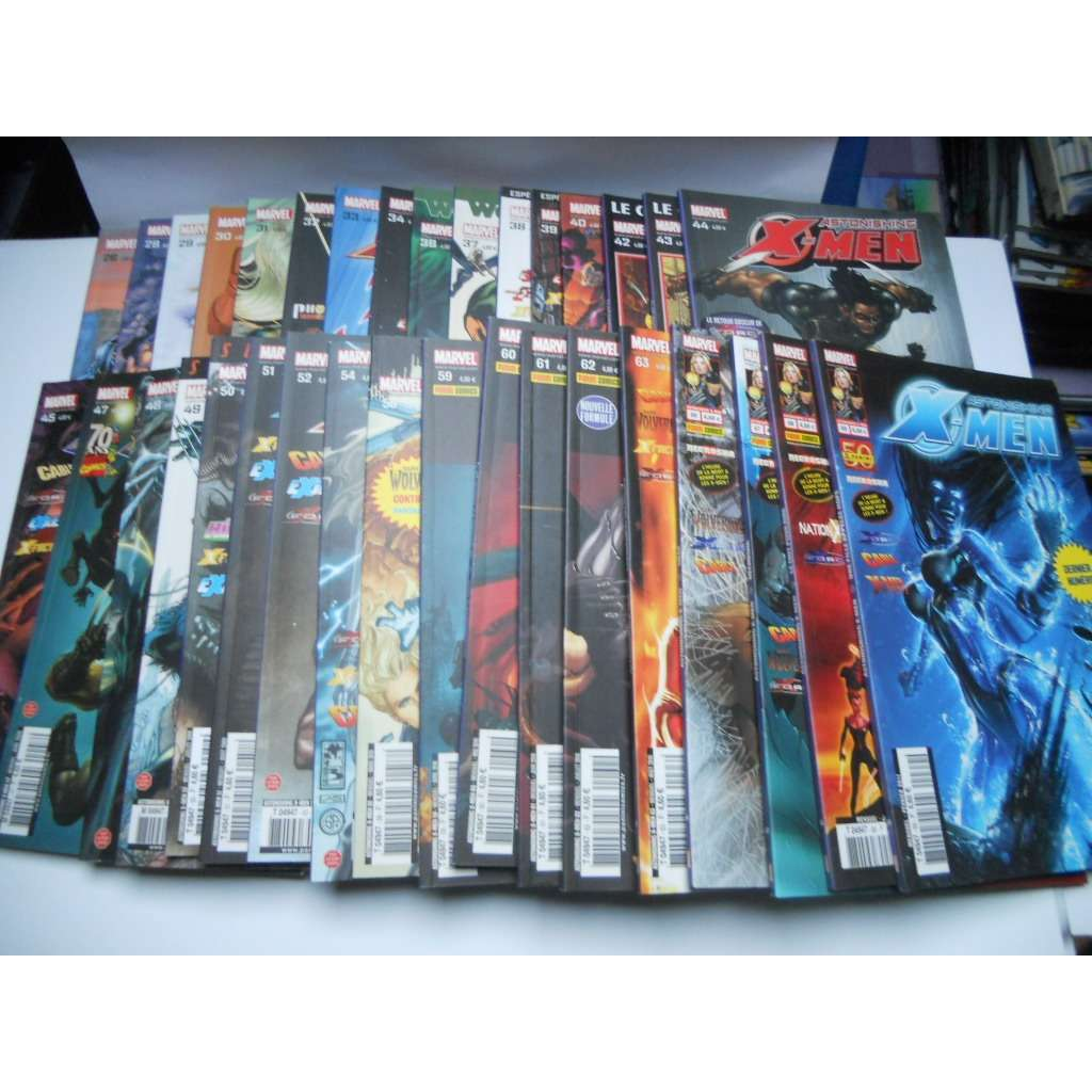 X Men Astonishing Lot De 34 Bd Du N°26 Au N° 69 Ma X Men Astonishing Lot De 34 Bd Du N°26 Au N° 69 Marvel Panini