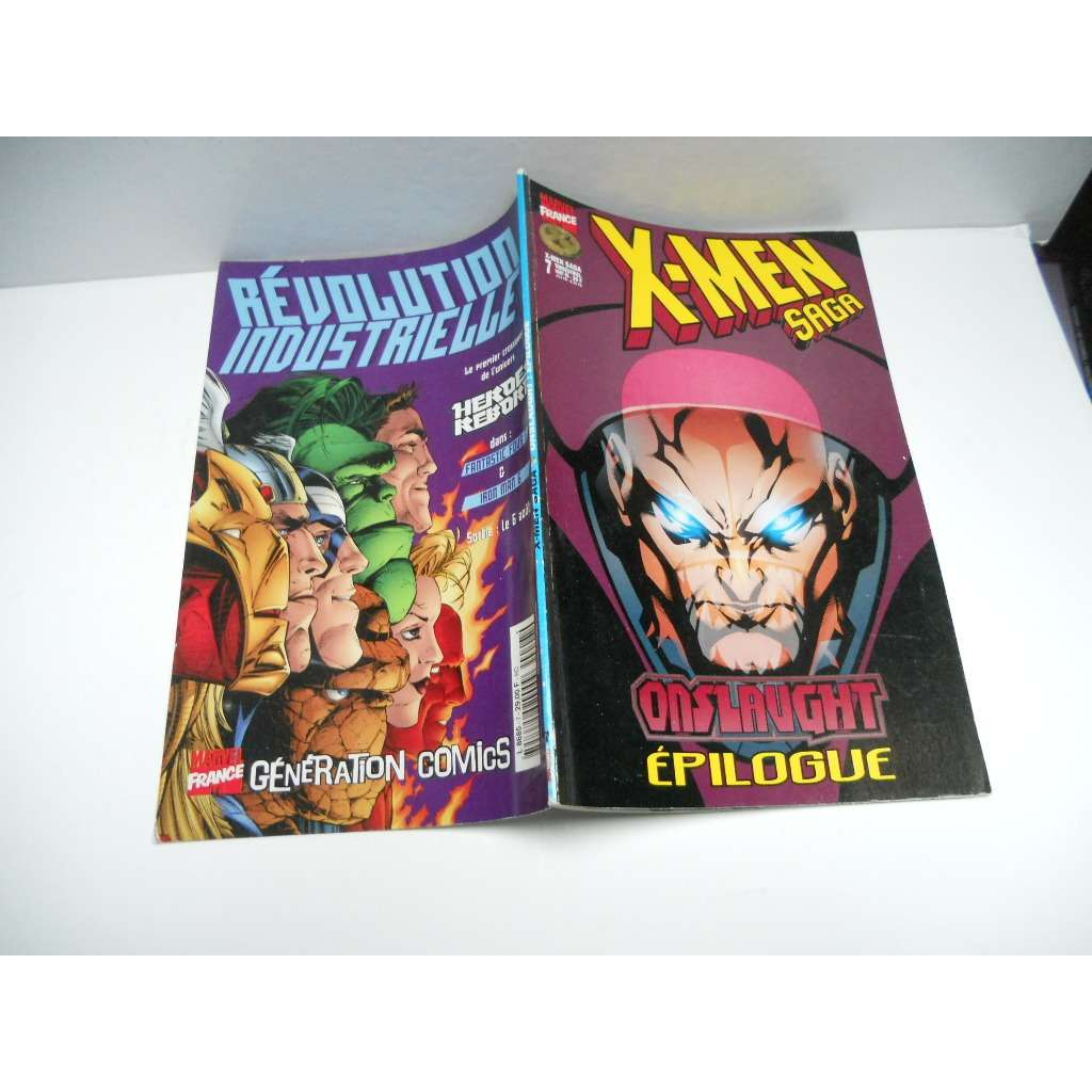 X-Men Saga N° 7 : Onslaught:Épilogue X-Men Saga N° 7 : Onslaught:Épilogue