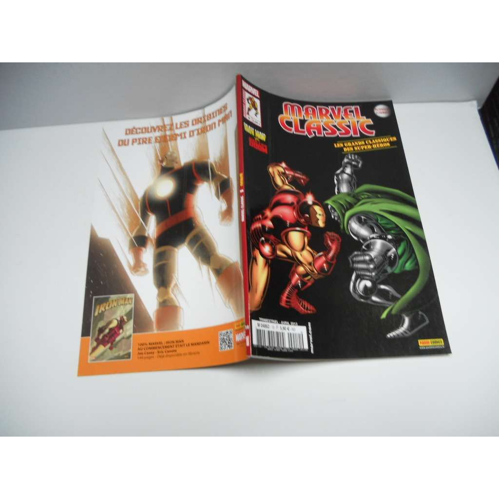 MARVEL CLASSIC n° 10 :  fatalité  ( iron man vs. MARVEL CLASSIC n° 10 :  fatalité  ( iron man vs. doctor doom )