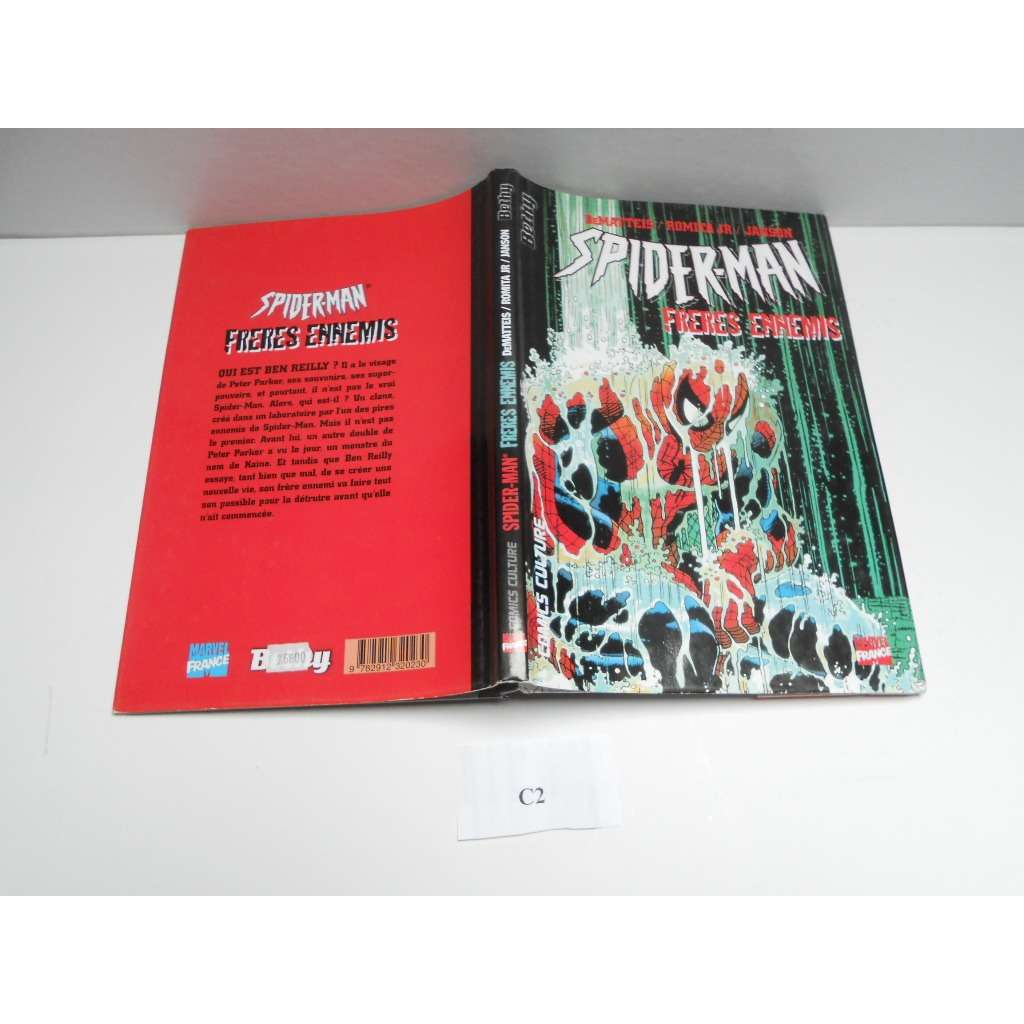 Spiderman Edition Bethy Freres Ennemis Bd Cartonne Spiderman Edition Bethy Freres Ennemis Bd Cartonnee N° 4 // C2