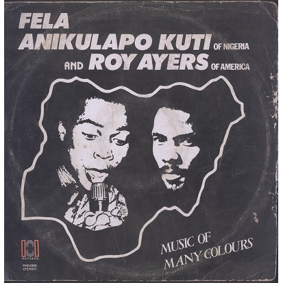 FELA KUTI AND ROY AYERS music of many colours, LP for sale